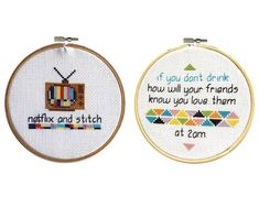 Twin Pack 1 - cross stitch pattern – Spruce Craft Co