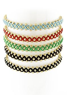 Summer Arm Candy: Blee Inara Macrame Bracelets | CITYist