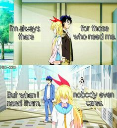 Nisekoi  Thanks to my best friend that she is always there for me