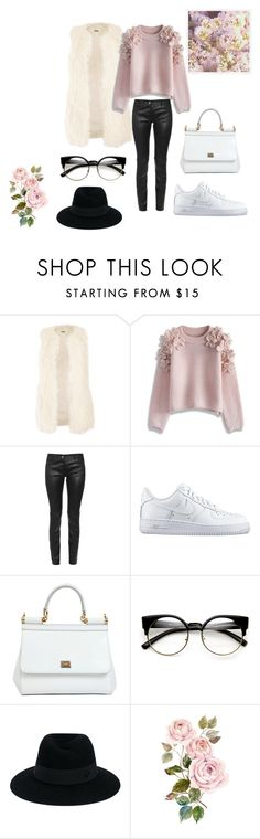 #Sweet_spring by dianacrystal on Polyvore featuring , Chicwish, Jakke, Balenciaga, NIKE, Dolce&Gabbana and Maison Michel