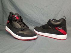 fd6ff8301646 Nike Men s Jordan Fadeaway Basketball Sneakers Black Red Size 7.5 FLOOR  MODEL!  fashion