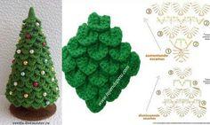 Gehäkelter weihnachtsbaum/christmas tree .....wonderful