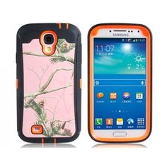 Woodlands Rugged Orange Samsung Galaxy S4 Case