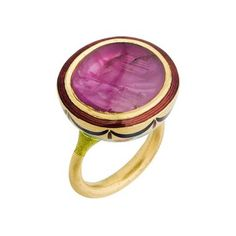 Alice Cicolini burmese ruby ring