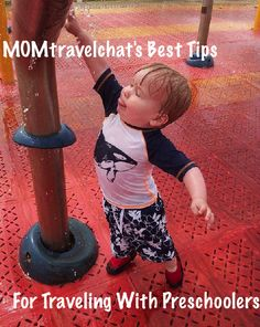Our best tips and advice for traveling with kids under 4.