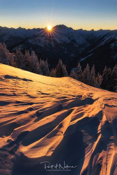 W i n t e r Best Sunset, Wallpaper S, Alps, Winter, Sky, Mountains, Pictures, Photography, Travel