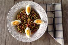 Guisantes con Jamón Serrano | Concucharaytenedor | Blog cocina