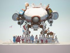 crew by quan pham tung Exploring Character Design