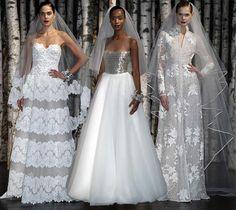 Naeem Khan Bridal Spring/Summer 2015 Collection  #weddingdresses #bridalfashion