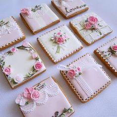 So cute cookies- Mother's Day- Pink Cookies, Tea Cookies, Fancy Cookies, Flower Cookies, Valentine Cookies, Easter Cookies, Royal Icing Cookies, Birthday Cookies, Cupcake Cookies