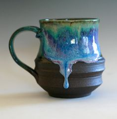 Beautiful ceramic. Looks like the glaze is about to drop!