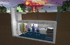 old british bunkers   An old British civil defence bunker layout-