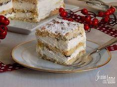 Mille-Feuille with pandoro - millefoglie al pandoro Torte Cake, Cake & Co, Italian Cake, Italian Desserts, Xmas Food, Christmas Desserts, Cooking Cake, Cooking Recipes, Key Lime Pie Bars