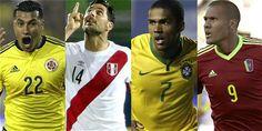 ¡Todos viven en el grupo C de la Copa América!