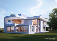 Projekty domów LK&Projekt LK&1239 wizualizacja 5