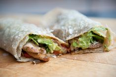 Tortilla met kip en avocado dip - Barbara EET
