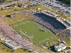 "Just one angle of the ""Prettiest Little Stadium in America,"" Allen E. Paulson Stadium, home of the six-time national champion Georgia Southern Eagles! Description from pinterest.com. I searched for this on bing.com/images"