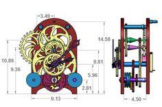 Clock dimensions
