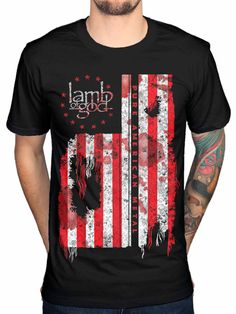 LAMB OF GOD WINGED DEATH Official T Shirt Size XXL Black Mens Licensed Merch