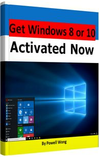 Get Windows 8 or 10 Activated Now Cover
