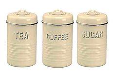 Tea, coffee, sugar