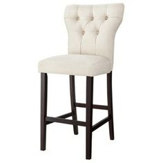 Marlowe Bar Stool - Burlap