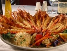 Save room for giant prawns from Pigalle Restaurant in Greenpoint Cape Town Beaches In The World, Most Beautiful Beaches, Prawn, Cape Town, Great Recipes, South Africa, Restaurants, Yummy Food, African