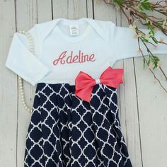 f43fe537ec Just love! Girls Coming Home Outfit, Take Home Outfit, Personalized Baby  Gifts,
