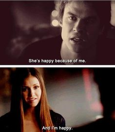 It's true!!! Simple as that. :) Leave well enough alone. Don't listen to them Damon! Listen to Elena. :)