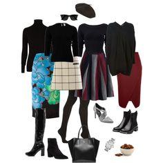 Ensemble: Statement Skirt