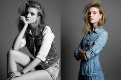 hanne bruening2 Hanne Bruning by Dirk Merten in True Blue for Fashion Gone Rogue