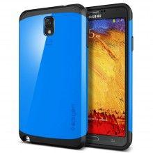 Capa Galaxy Note 3 Spigen SGP Slim Armor - Dodger Azul  R$70,92