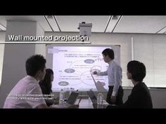 Ricoh Ultra Short Throw Projectors = used with e-beam as whiteboard = digital signage = i-pad projector