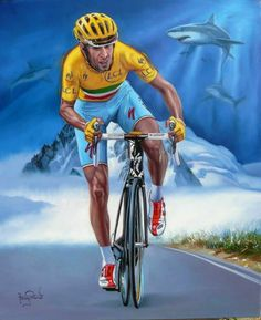 Cycling Art, Road Cycling, Vincenzo Nibali, World Of Sports, Climbers, Shirt Designs, Racing, Superhero, Bicycles