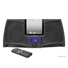 iPad/iPod/iPhone Digital 2 way Stereo Speaker System With 300 Watts, RemoteControl, Line-In