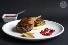 #Duck with hot, plum confiture / Kaczka z gorącą, śliwkową konfiturą. Recipe > http://magicznyskladnik.pl/2013/09/kaczka-z-goraca-sliwkowa-konfitura/