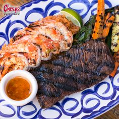 Steak me home tonight. We love surf and turf! :)