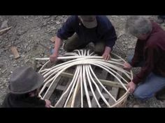 How to make a yurt in 3 days? (I'm sure I could get it partially built in this lifetime).