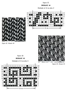 Mosaic Knitting Barbara G. Walker (Lenivii gakkard) Mosaic Knitting Barbara G. Walker (Lenivii gakkard) #44
