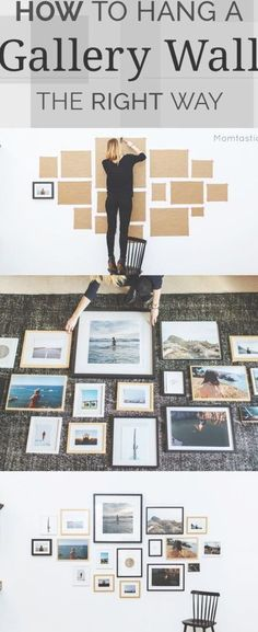 how to hang a gallery wall More #ad