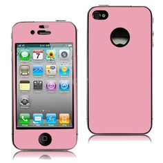 iPhone 4 / 4S Vinyl Stickers / Protective Film 2-in-1 - Front & Back  - $6.9