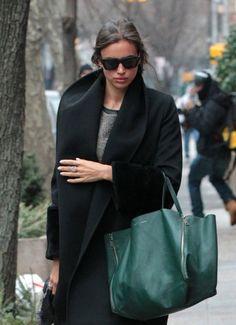 Irina Shayk, love the bag