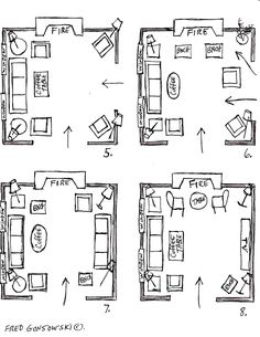 3 Genius Solutions for Living Room Layout Problems | Living rooms ...