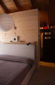 Riqualificazine appartamento _ interior design Francesca Macchi _ camera matrimoniale con cabina armadio