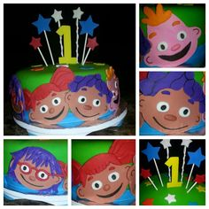 Sid the Science Kid cake