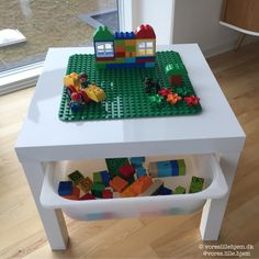 Most up-to-date Photos IKEA hacking: Do-it-yourself the easy way Popular The IKEA Kallax series Storage furniture is a vital element of any home. They provide obtain and a Hacks Diy, Baby Hacks, Ikea Hacks, Ikea Kallax Hack, Shabby Chic Table And Chairs, Lego Table, Best Ikea, Lego Duplo, Cool Baby Stuff