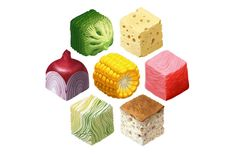 ArtStation - Food no cubo, Pregador local
