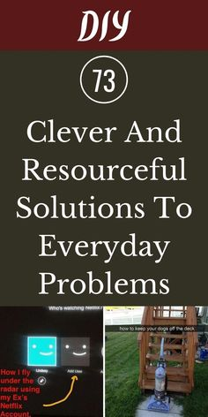 Well, browse through a compilation of 73 ingenious solutions shared by funny and clever people who just happened to come up with them at the right moment to make your life even easier. #73 #clever #resourceful #solutions Cleaning Checklist, Cleaning Recipes, Baby Snowsuit, Life Rules, Smart People, Detox Drinks, Deep Cleaning, Holiday Parties, Straightener