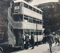 Triple-Decker Bus - 1920's