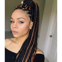 Box braids hairstyles are called as the royal braiding hairstyles. So, short box braids are a ...